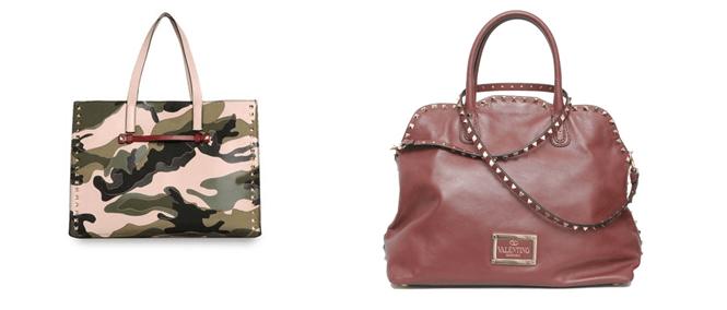 Alcuni modelli di borse Valentino Garavani
