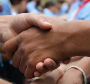 stretta di mano (Foto: Flickr - irene_dipietro)
