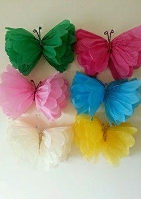 Delle stupende farfalle colorate