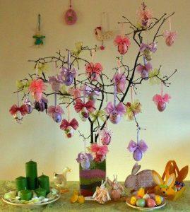 vetrine di pasqua albero di pasqua