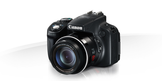 Fare fotografie - fotocamera bridge della Canon [fonte www.canon.it]