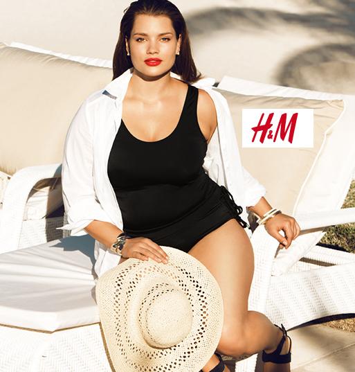 Costumi taglie forti [fonte H&M]
