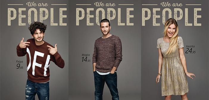 "Piazza Italia lancia la nuova campagna ""We Are People"""
