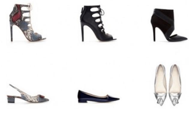 Scarpe Zara a-i 2014 (foto: zara.com)