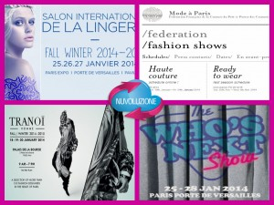 Eventi moda Parigi