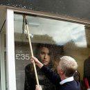 Pulire le vetrine