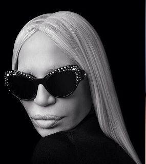 Occhiali Versace 2014 - Donatella Versace [fonte versace.com]