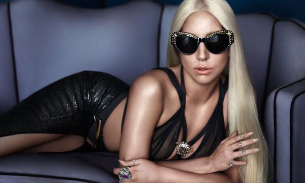 Occhiali Versace 2014 - Lady Gaga [fonte versace.com]