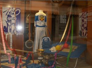 Vetrina per abbigliamento sportivo
