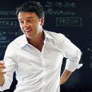 Matteo Renzi in camicia