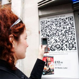 proximity marketing qrcode
