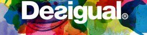Logo Desigual: da notare la ricchezza di colori e tonalità, perfetti per un negozio di abbigliamento femminile