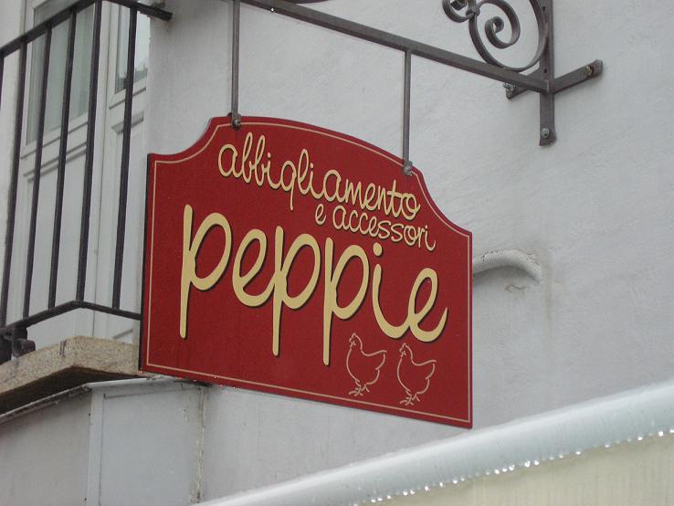 nome negozio abbigliamento insegna