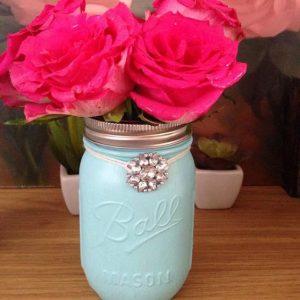 vaso di fiori per vetrine festa della mamma