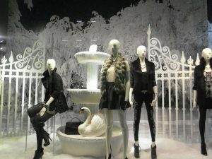 Visual merchandising innovativo